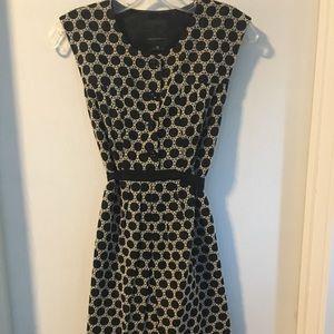 Sweet sleeveless dress by Anthropologie